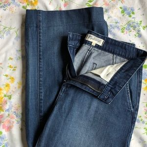 Madewell trouser jeans